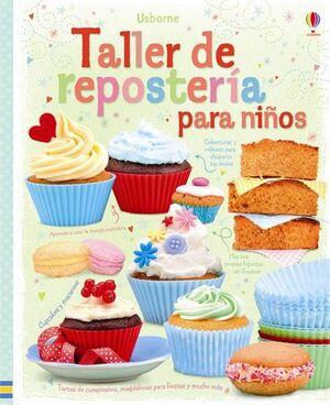 TALLER DE REPOSTERIA PARA NIÑOS
