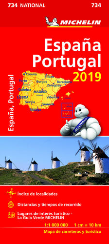 MAPA NATIONAL ESPAÑA - PORTUGAL