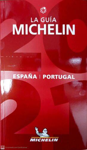 GUIA MICHELIN ESPAÑA Y PORTUGAL 2021