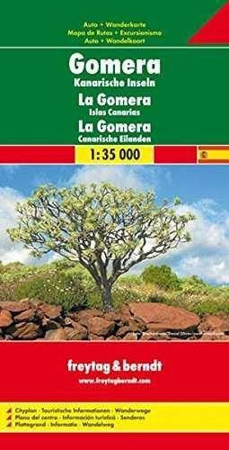 MAPA GOMERA 1:35000