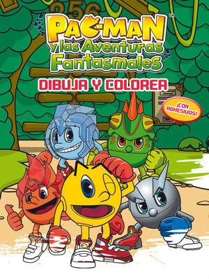 DIBUJA Y COLOREA (PAC-MAN. ACTIVIDADES)