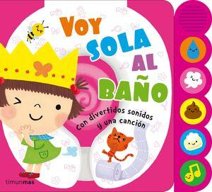 VOY SOLA AL BAÑO