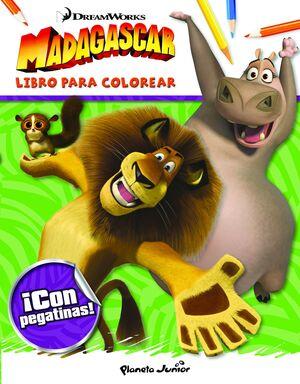 MADAGASCAR. LIBRO PARA COLOREAR