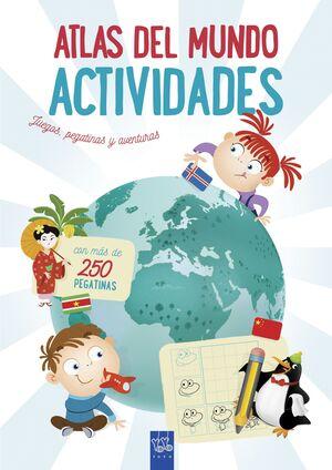 ATLAS DEL MUNDO. ACTIVIDADES