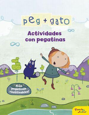 PEG + GATO. ACTIVIDADES CON PEGATINAS