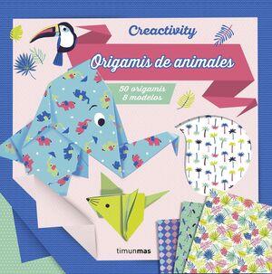 CREACTIVITY. ORIGAMIS DE ANIMALES