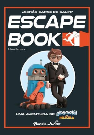 PLAYMOBIL. LA PELICULA. ESCAPE BOOK
