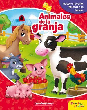 ANIMALES DE LA GRANJA. LIBROAVENTURAS