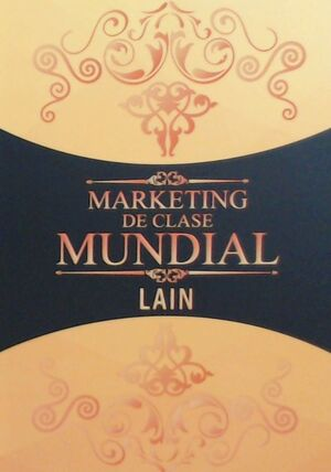 MARKETING DE CLASE MUNDIAL