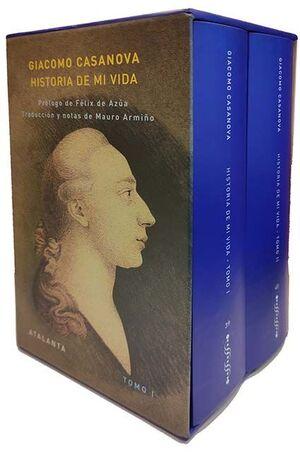 ESTUCHE HISTORIA DE MI VIDA (2 VOLÚMES)