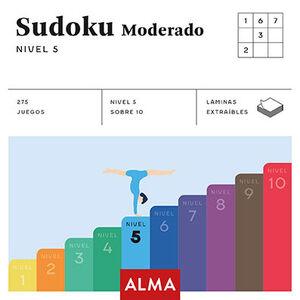 SUDOKU MODERADO. NIVEL 5
