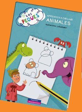 LOS PEQUES APRENDEN A DIBUJAR ANIMALES