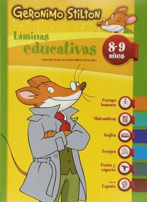 GERONIMO STILTON LAMINAS EDUCATIVAS 8-9 AÑOS