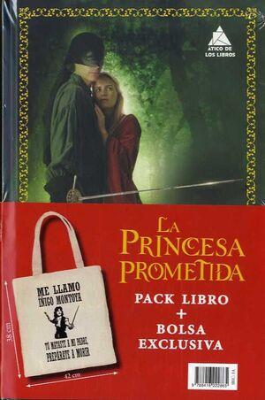 PACK LA PRINCESA PROMETIDA CON BOLSA
