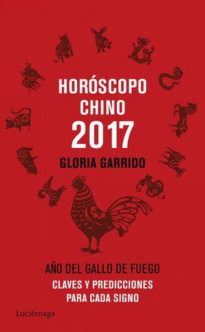 HORÓSCOPO CHINO 2017