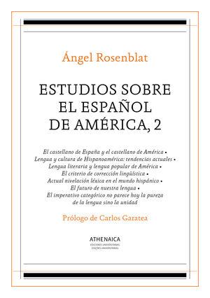 ESTUDIOS SOBRE EL ESPAÑOL DE AMÉRICA, 2