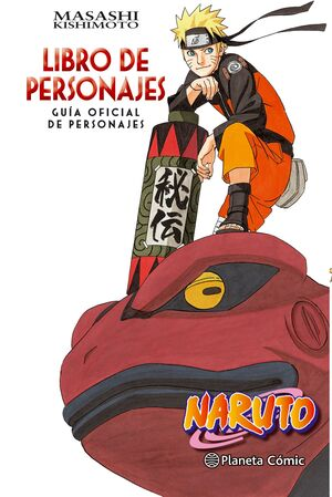 NARUTO GUÍA Nº 03 LIBRO DE PERSONAJES