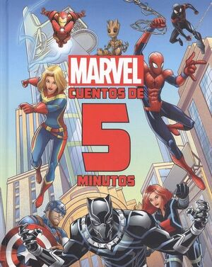 MARVEL. CUENTOS DE 5 MINUTOS