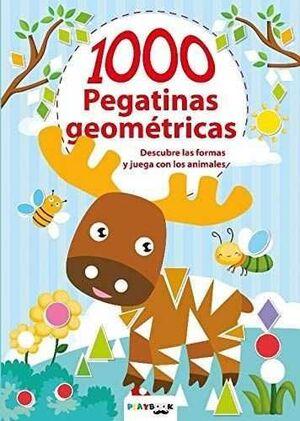 ANIMALES. 1000 PEGATINAS GEOMÉTRICAS
