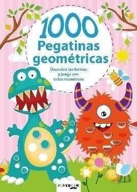 MONSTRUOS. 1000 PEGATINAS GEOMÉTRICAS