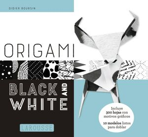 ORIGAMI. BLACK AND WHITE