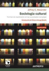 SOCIOLOGIA CULTURAL 2ª ED.