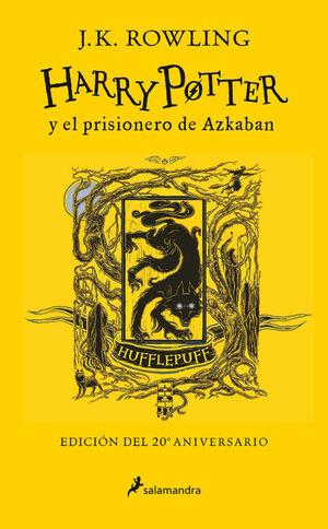 HARRY POTTER Y EL PRISIONERO DE AZKABAN (EDICIÓN HUFFLEPUFF DEL 2