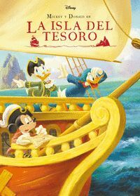 MICKEY Y DONALD EN LA ISLA DEL TESORO. CUENTO