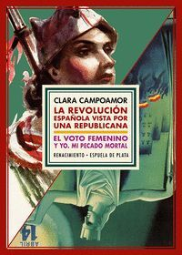 ESTUCHE CLARA CAMPOAMOR REVOLUCION ESPAÑOLA/VOTO FEMENINO