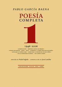 POESIA COMPLETA, 1