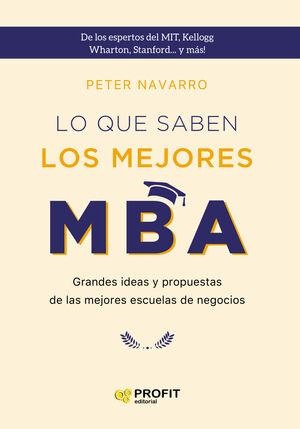 LO QUE SABEN LOS MEJORES MBA. NE