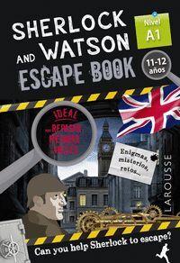 SHERLOCK & WATSON. ESCAPE BOOK PARA REPASAR INGLES. 11-12 AÑOS