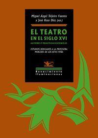 TEATRO EN EL SIGLO XVI,EL