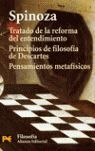 TRATADO DE LA REFORMA DEL ENTENDIMIENTO. PRINCIPIOS DE FILOSOFÍA DE DESCARTES. P