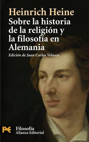 SOBRE LA HISTORIA DE LA RELIGIÓN Y LA FILOSOFÍA EN ALEMANIA