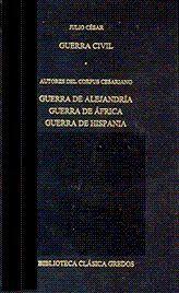GUERRA CIVIL. GUERRA DE ALEJANDRIA