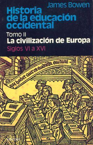 HISTORIA DE LA EDUCACIÓN OCCIDENTAL TOMO II