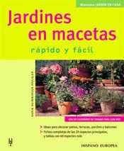 JARDINES EN MACETAS (JARDÍN EN CASA)