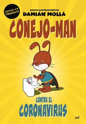 CONEJO-MAN CONTRA EL CORONAVIRUS