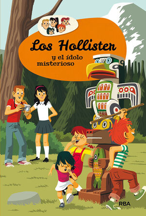 LOS HOLLISTER 5. LOS HOLLISTER Y EL ÍDOLO MISTERIOSO.