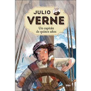 JULIO VERNE 9. UN CAPITÁN DE QUINCE AÑOS.