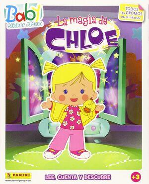 BABY STICKER ALBUM LA MAGIA DE CHLOE