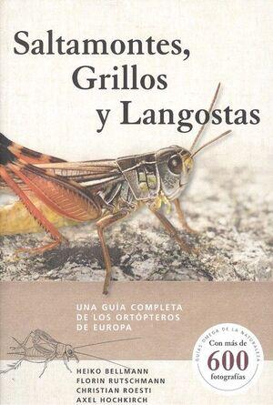 SALTAMONTES, GRILLOS Y LANGOSTAS