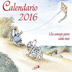 CALENDARIO UN CONSEJO PARA CADA MES 2016