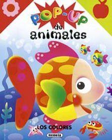 POP UP DE ANIMALES. LOS COLORES