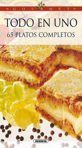 TODO EN UNO 65 PLATOS COMPLETOS