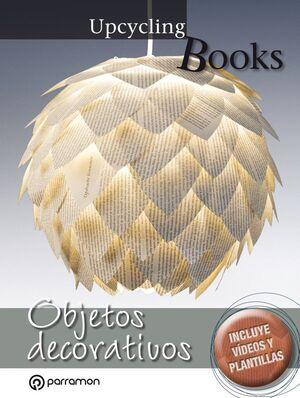 UPCYCLING BOOKS OBJETOS DECORATIVOS