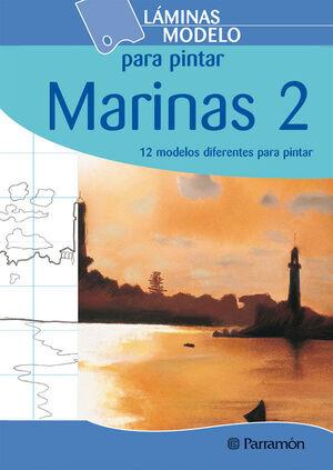 LÁMINAS MODELO PARA PINTAR MARINAS 2