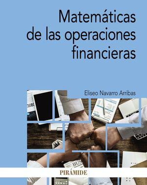 MATEMÁTICAS DE LAS OPERACIONES FINANCIERAS