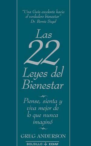 LAS 22 LEYES DEL BIENESTAR
